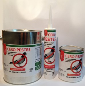 Gel palomas Cero Pestes 3 presentaciones