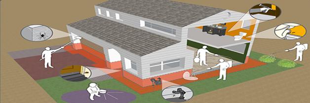 Residencias particulares. Fumigacion Hogares, Fumigacion en Casas, Fumigador Casas