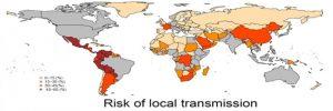 La predicción de la propagación del virus Zika de transmisión